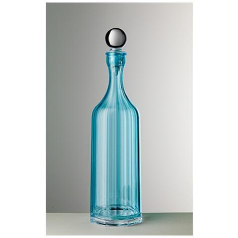 Bottiglia Bona Acrilico Con Tappo H 35,5 Cm Colore Turchese