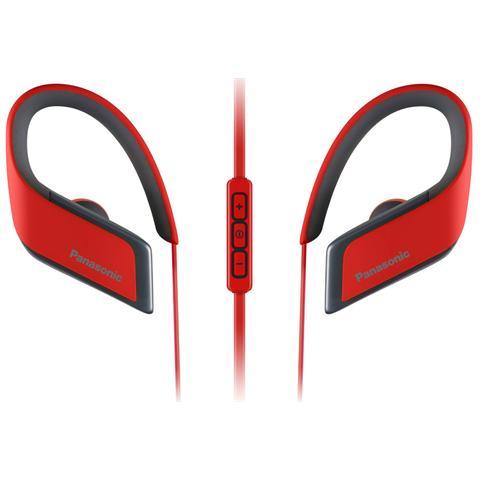 PANASONIC Auricolare Sport Wireless RP-BTS30 Bluetooth colore Rosso