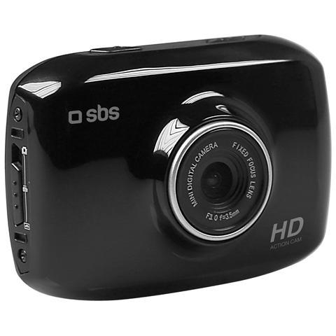 SBS Action Cam TTACAMHDLCD Sensore CMOS Full HD Display Touchscreen 2'' colore Nero