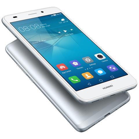 "HUAWEI GT3 Argento 16 GB 4G / LTE Dual Sim Display 5.2"" Full HD Slot Micro SD Fotocamera 13 Mpx Android Italia"