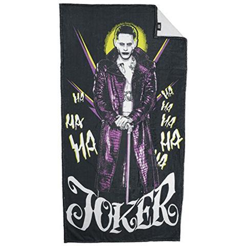 UNITED LABELS Asciugamano Telo Mare Suicide Squad Towel Joker Ii 150 X 75 Cm