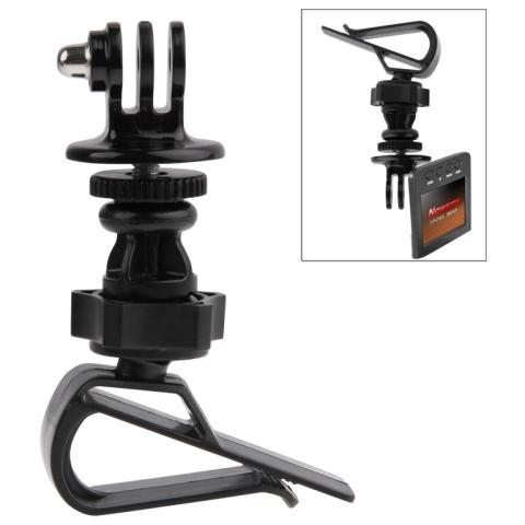 Network Shop Supporto Da Parasole Auto Rotazione 360 Per Camera Gopro Hd Hero 2/3/3+ / 4