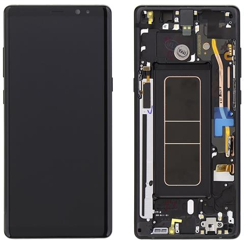 Image of Display Lcd Touch Schermo Nero Originale Samsung Galaxy Note 8 Sm-n950 + Kit