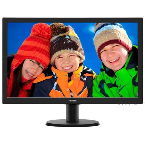 Image of 243V5LSB Monitor 23.6'' LED Risoluzione 1920x1080 Full HD Tempo di Risposta 5ms Contrasto 10.000.000:1 Luminosit