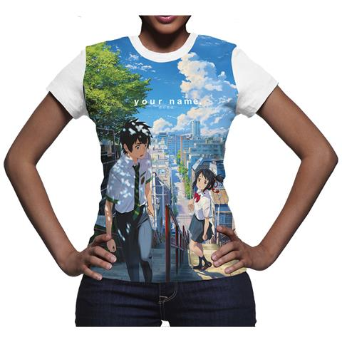 DYNIT Your Name. - Incontro (T-Shirt Donna Tg. S)