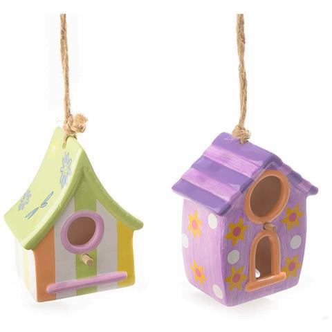 Casette Uccelli In Ceramica