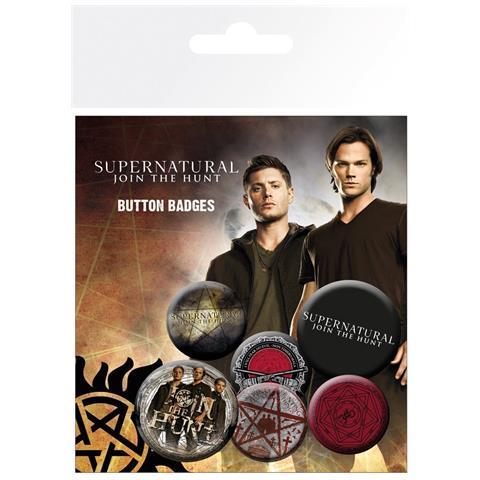 GB EYE Supernatural - Saving People (badge Pack)