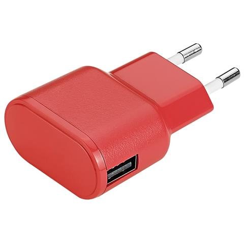 AIINO Wall Charger 1USB 1A - Red