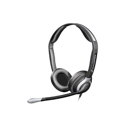 SENNHEISER CC-550 Binaural Headset - Cable Connectivity, Stereofonico, Cablato, 300 - 3400 Hz, Dinamico, Digitale, semi-aperto