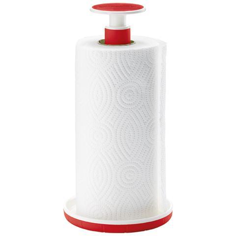 Guzzini Portarotolo Push&block Colore Rosso