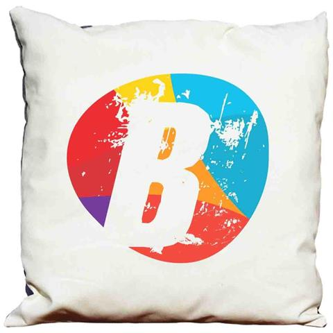 Cuscino Decorativo Lettera B