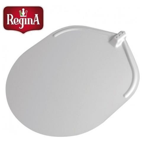 Pala Pizza Pizzeria Cm 50x62 Ovale Liscia Alluminio Anodizzato Regina Rs8473