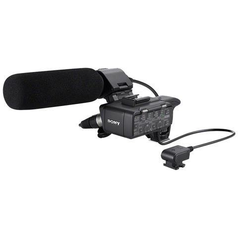 Image of Kit adattatore per microfono XLR, comprensivo di adattatore XLR-A1M e microfono monofonico bidirezionale ECM-XM1