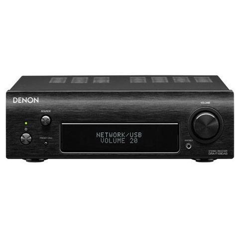 DENON Lettori CD Serie DCD mod. DCD-F109 MP3 porta USB compatibile iPod Colore Nero