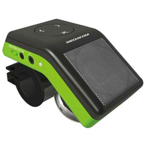 MEDIACOM Lettore MP3 Bike con Speaker