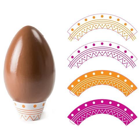 16 Basi Per Uova Di Cioccolato Da 350g A 500g
