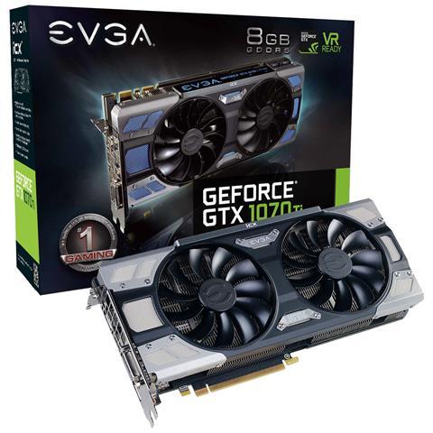 Image of 08G-P4-6775-KR GeForce GTX 1070 8GB GDDR5 scheda video