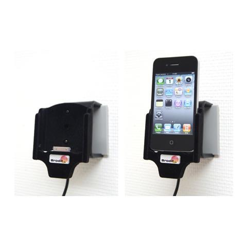 Brodit Active Holder With Cig-Plug Active holder Nero