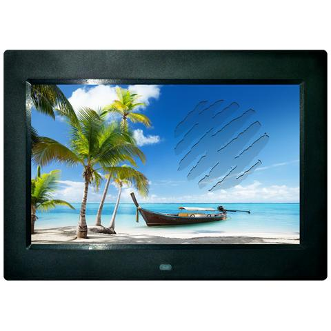 BDF-101, 25,65 cm (10.1'') , 1024 x 600 Pixels, TFT, BMP, JPG, AVI, DIVX, MPEG, MPEG1, MPE...
