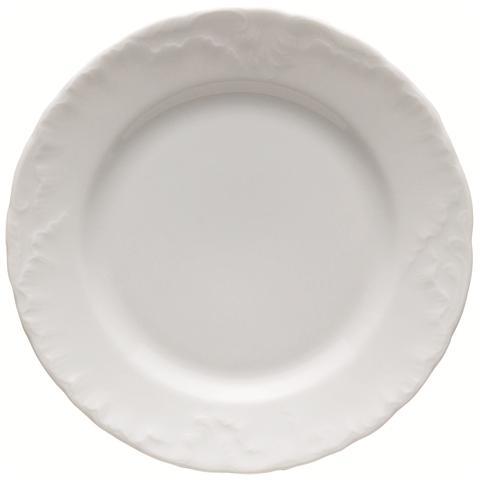 EXCELSA Piatto Frutta Bianco in Porcellana Elisa Rococ? 19,0 cm