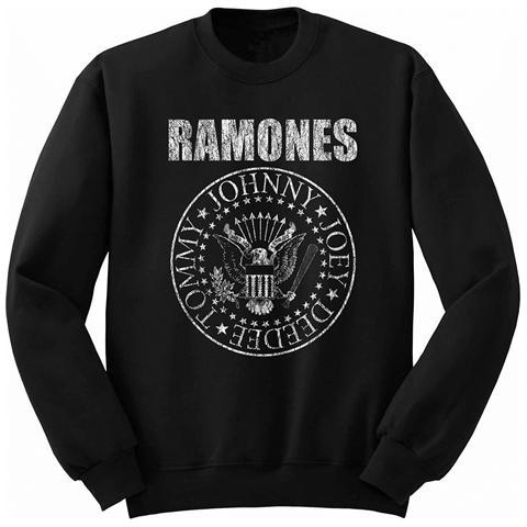 ROCK OFF Ramones - Presidential Seal Black (Felpa Bambino Tg. 2XL)