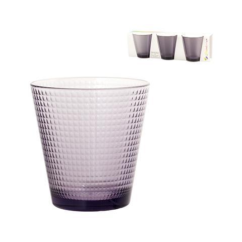 Confezione 3 Bicchiere Vetro Generation Lil Tavola
