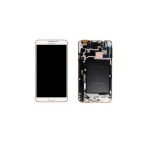 SAMSUNG Copertura Frontale LCD+Touchscreen Bianco Oro GH97-15209E