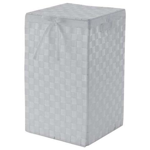 compactor Cesto Portabiancheria Quadrato Stan Bianco