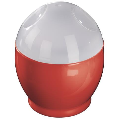 00111490 1uovo / uova Rosso, Trasparente Pentolino per uova