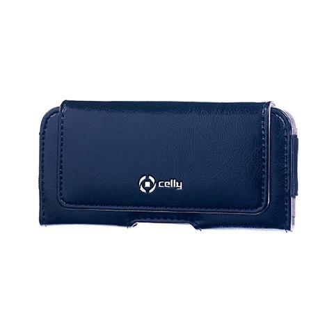CELLY horiz. pu case style xl size blue