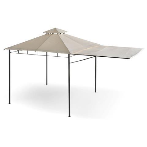 Gazebo con tettoia 3 x 3 metri