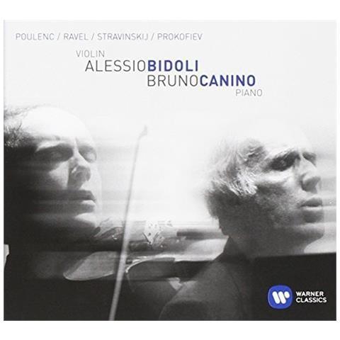 WARNER MUSIC Alessio Bidoli - Poulenc, Ravel, Stravinskij