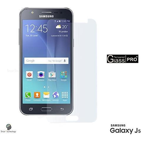 Smartechnology Pellicola Vetro Temperato Per Samsung Galaxy J5 Sm-j500 Trasparente Clear Proteggi Display Salva Schermo Touch Screen