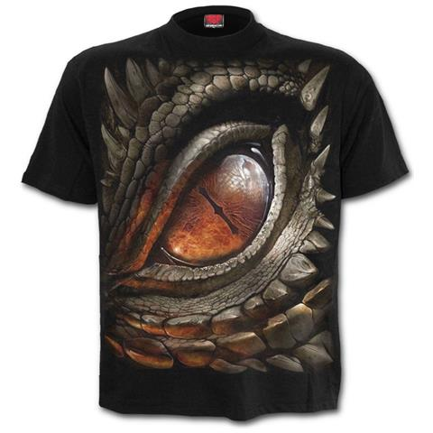 SPIRAL Dragon Eye Black (T-Shirt Unisex Tg. L)