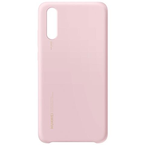 HUAWEI Cover in Silicone Cover colore Rosa per Huawei P20