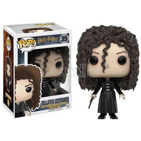 FUNKO Harry Potter Pop Movies Vinile Figura Bellatrix Lestrange 9 Cm
