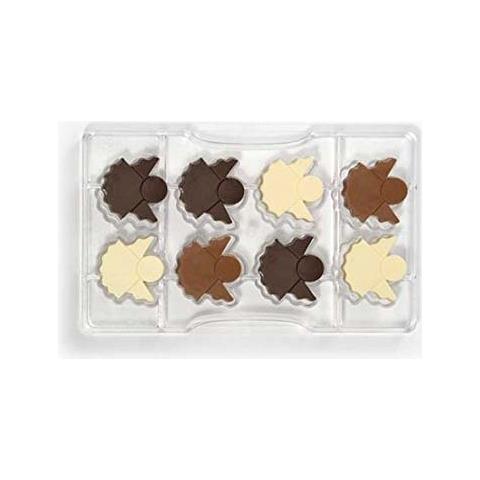Decora Stampo cioccolatino angioletto 8 cavita' 400x380x22mm