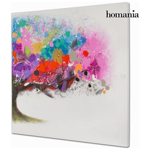Homania Dipinto A Olio Albero Colori By