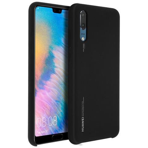 HUAWEI Cover in Silicone Cover colore Nero per Huawei P20