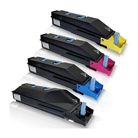 Image of 654010015 Giallo Rig Toner Color Compatibile Utax 1740,1850 Triumph 2740 2850 -18k Copie