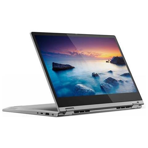 "LENOVO Notebook 2 in 1 IdeaPad C340-14IML Monitor 14"" Full HD Touch Screen Intel Core i5-10210U Ram 8 GB SSD 512 GB 3xUSB 3.1 Windows 10 Home"
