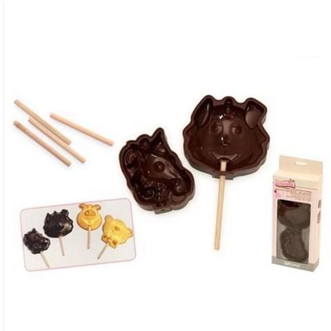 Stampi Lollipop per Tortine Biscotti e Cioccolato