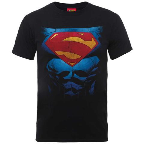 ROCK OFF Dc Comics - Superman Pectacular Logo (t-shirt Unisex Tg. Xl)
