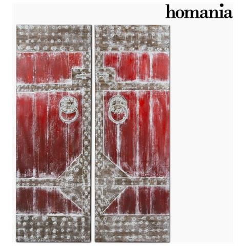 Homania Dipinto A Olio By