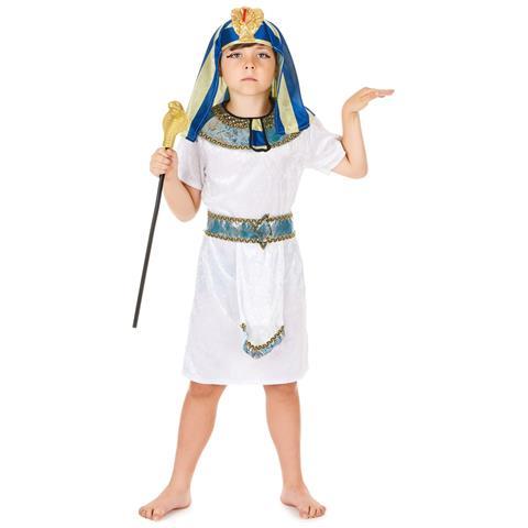 JADEO - Costume Da Faraone Dell antico Egitto Per Bambino 4 - 6 Anni (s) 8e43f80ab0a9