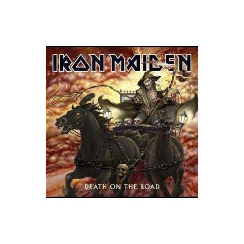 WARNER BROS CD IRON MAIDEN - DEATH ON THE ROAD (live)