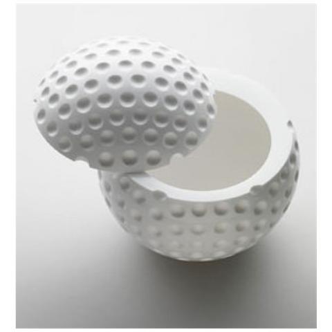 Portaghiaccio Golf Acrilico Ø 17cm H 21 Cm Colore Bianco