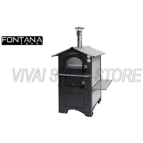 Forno Fontana Gusto 80x54 Bianco