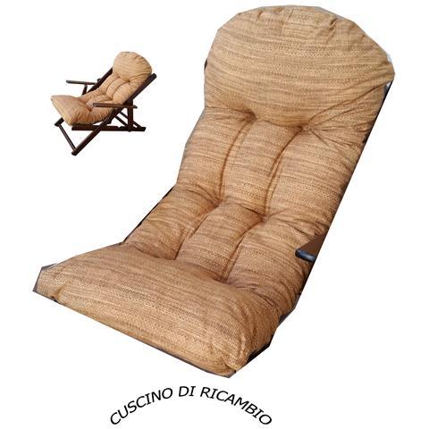 Cuscino Confort Di Ricambio Super Imbottiti Lusso Sabbia
