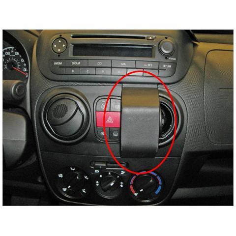 BRODIT Staffa di Montaggio ProClip Passivo da Auto per Smartphone Nero